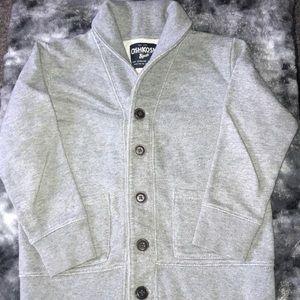 Osh Kosh Boys Shawl collar, button cardigan
